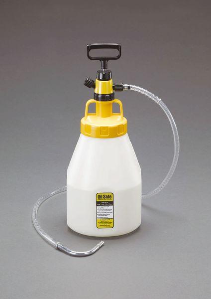 【メーカー在庫あり】 EA991GS-113 エスコ ESCO 5L オイルディスペンスボトル(ポンプ付/イエロー)