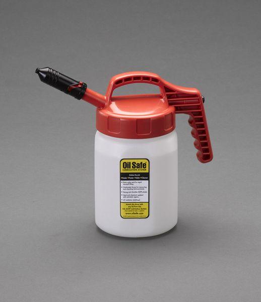 【メーカー在庫あり】 EA991GS-22 エスコ ESCO 2L/ 7mm オイルディスペンスボトル(レッド)