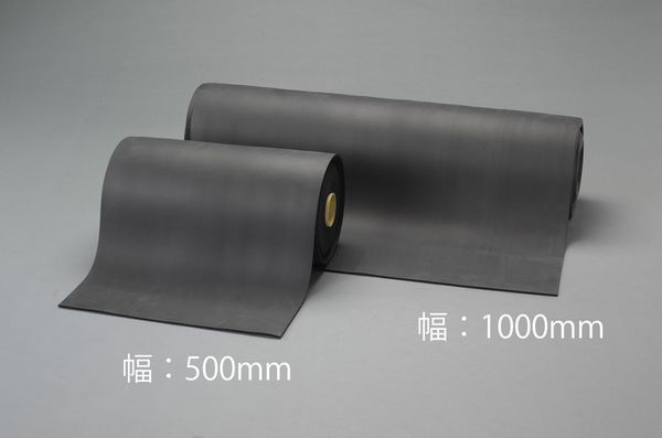 【メーカー在庫あり】 EA997XD-81 エスコ ESCO 500mmx10m/ 3mm スポンジロール(EPDM)