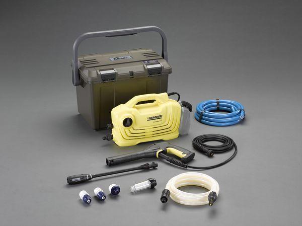 【メーカー在庫あり】 エスコ ESCO 高圧洗浄機(吸水ホース・ケース付) EA115KM-100B JP店