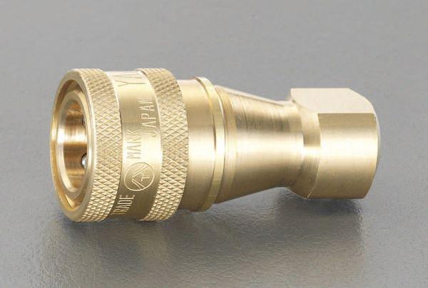 【メーカー在庫あり】 エスコ ESCO RC 2インチ 雌ねじカップリング(真鍮製) EA140BA-16 JP店