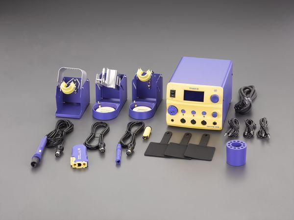 エスコ ESCO AC100V/410W コントローラ付半田ごて(温度表示付) EA304AN JP店