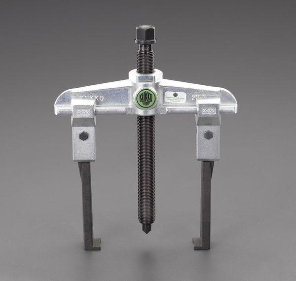 【メーカー在庫あり】 エスコ ESCO 120mm スライドアームプーラー(2本爪/薄爪) EA500CE-120 JP店