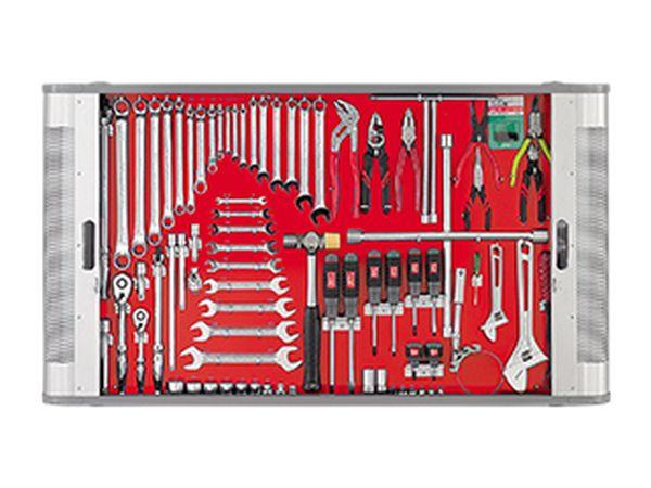 【メーカー在庫あり】 エスコ ESCO 79個組 工具セット(シャッター付) EA91B JP店