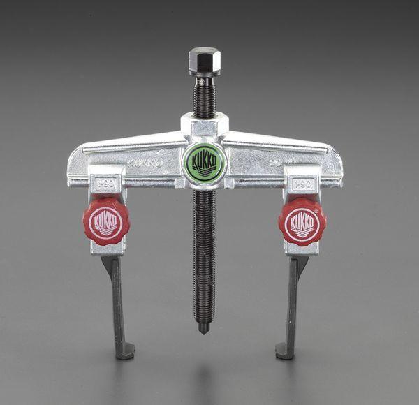 【メーカー在庫あり】 エスコ ESCO 90mm スライドアームプーラー(2本爪/超薄爪/固定付) EA500CF-90 JP店
