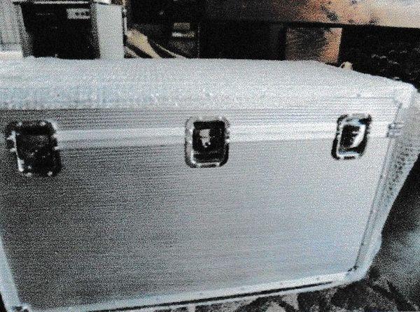 【メーカー在庫あり】 エスコ ESCO 750x400x450mm アルミケース EA502AC-1 JP店