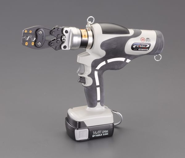 【メーカー在庫あり】 エスコ ESCO 2.0-14.0m 充電式油圧圧着工具(裸端子用) EA539PD-10 JP店