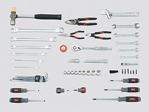 【メーカー在庫あり】 エスコ ESCO 52個組 工具セット EA612SB-39B JP店