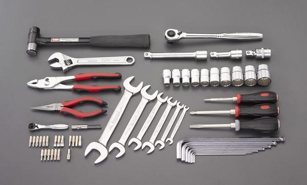 【メーカー在庫あり】 エスコ ESCO 56個組 工具セット EA612SC-59 JP店