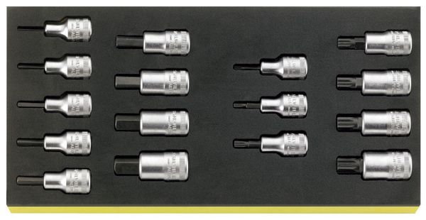 【メーカー在庫あり】 エスコ ESCO 1/2インチsq Hex ビットソケットセット EA612TA-28 JP店