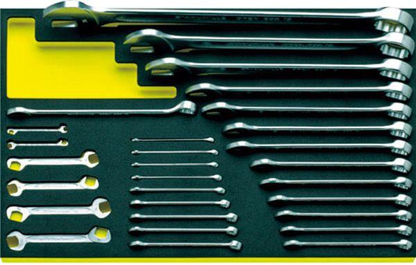 【メーカー在庫あり】 エスコ ESCO 29本組 両口・片目片口スパナセット EA612TH-2 JP店