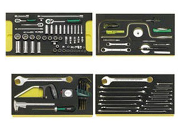 【メーカー在庫あり】 エスコ ESCO 122個組 航空機整備用工具セット(インチ) EA612VS-2 JP店