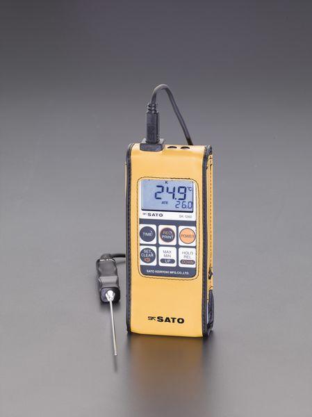 【メーカー在庫あり】 エスコ ESCO -100/+300℃ デジタル温度計(防水型) EA701SA-10 JP店