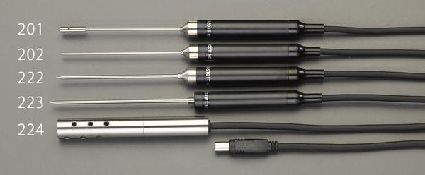 【メーカー在庫あり】 エスコ ESCO EA701SA-10、20用 食品用センサー(低温・防水型 EA701SA-223 JP店
