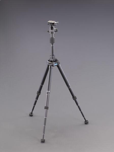 【メーカー在庫あり】 エスコ ESCO 268-1540mm カメラ用三脚(中型/高伸縮) EA759EX-176 JP店