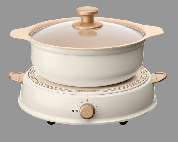 【メーカー在庫あり】 エスコ ESCO IH調理器・鍋セット EA763AK-39 JP店