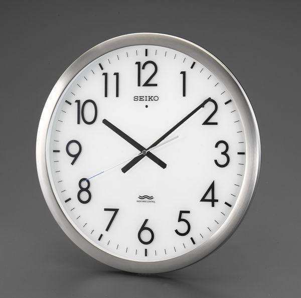 【メーカー在庫あり】 エスコ ESCO φ421mm 電波 掛時計 EA798CC-111 JP店