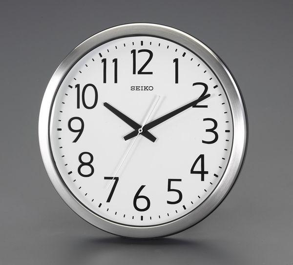 【メーカー在庫あり】 エスコ ESCO φ381mm 防湿・防塵 掛時計 EA798CC-92 JP店