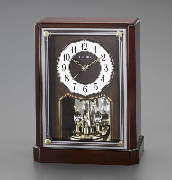 【メーカー在庫あり】 エスコ ESCO 287x221x122mm 電波 置時計 EA798CS-7 JP店