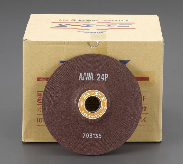 【メーカー在庫あり】 エスコ ESCO 150x6mm/A/WA24P オフセット型砥石(25枚) EA809YD-224 JP店