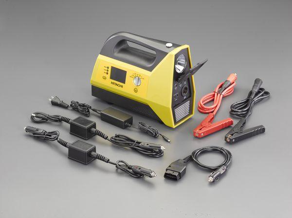 【メーカー在庫あり】 エスコ ESCO AC100V・DC12/24V・USB ポータブル電源 EA812HF-11 JP店