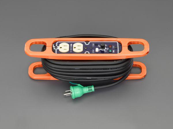 【メーカー在庫あり】 エスコ ESCO AC125V/15A/10m コードリール(アース・電流コントロール付 EA815GV-46 JP店