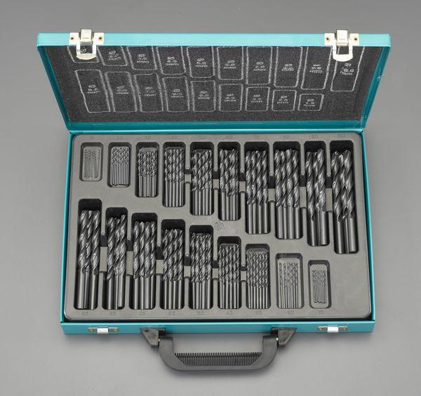 【メーカー在庫あり】 エスコ ESCO 1.0-10.0mm/170本組 ドリルセット(HSS) EA824CL JP店