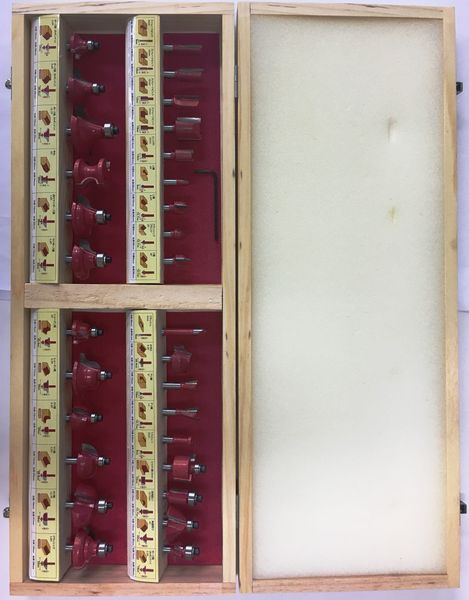 【メーカー在庫あり】 エスコ ESCO 30本組ルータービットセット EA828A-30A JP店