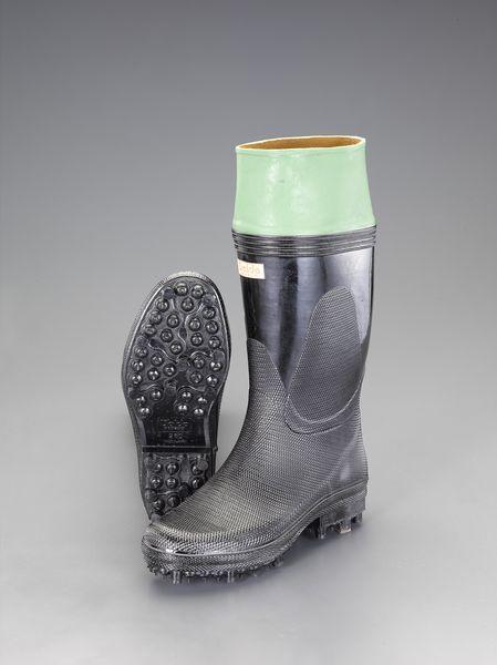 【メーカー在庫あり】 エスコ ESCO 25.5cm 長靴(スパイク底) EA910MC-25.5 JP店