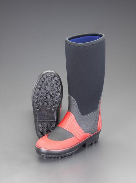 【メーカー在庫あり】 エスコ ESCO 25.5cm 長靴(スパイク底) EA910ME-25.5 JP店