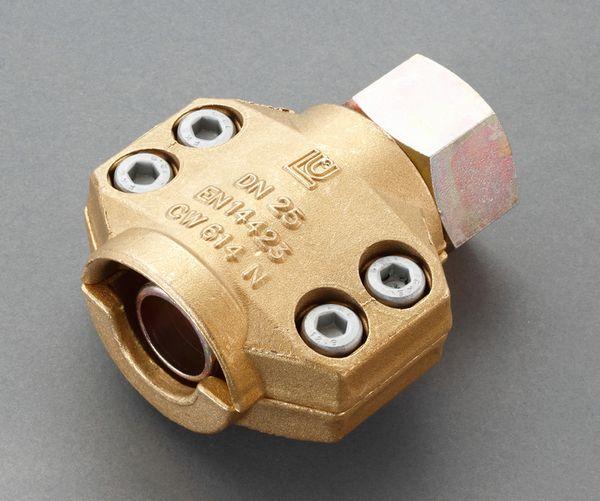 【メーカー在庫あり】 38mm用雌ねじ セーフティーホースクランプ(ス 000012287798 JP店