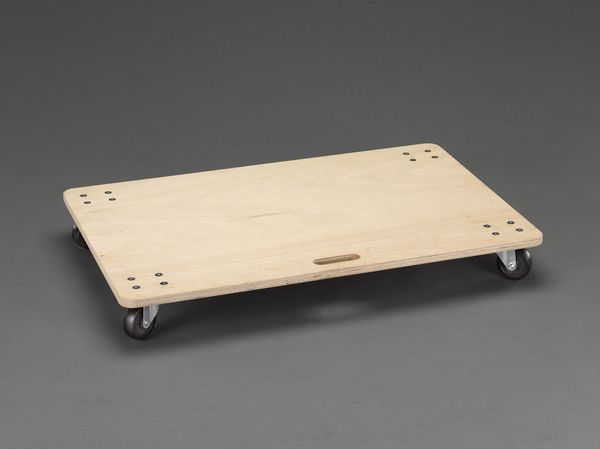 【メーカー在庫あり】 600x 900mm/150kg ドーリー(木製) 000012298067 JP店