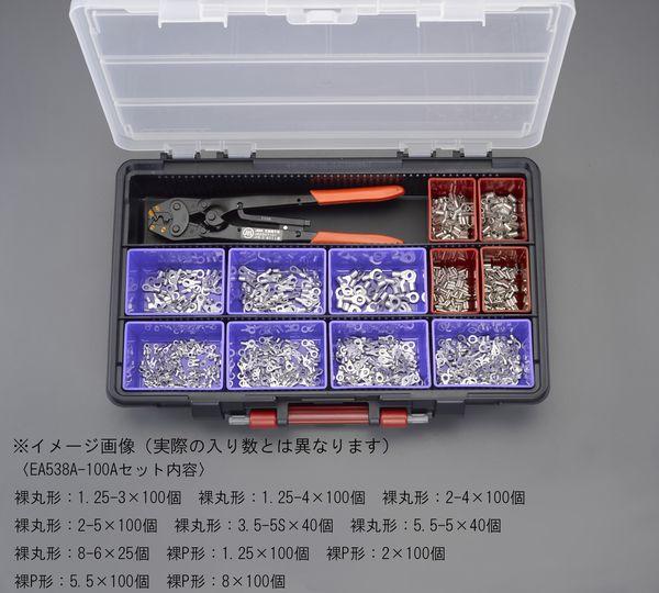 【メーカー在庫あり】 圧着端子セット(裸圧着端子・スリーブ 000012287435 JP店