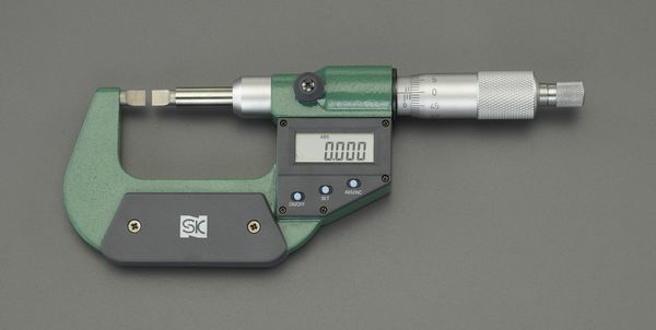 【メーカー在庫あり】 0- 25mm デジタルマイクロメーター(ブレー 000012291348 JP店