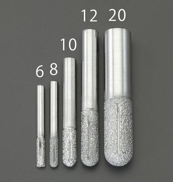 【メーカー在庫あり】 8mm ダイヤモンドルーター(複合材用/先 000012292308 JP店