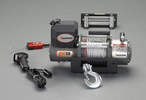 【メーカー在庫あり】 DC12V/3402kg 電動ウィンチ(直流) 000012295503 JP店