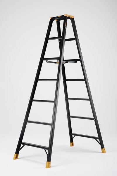 【メーカー在庫あり】 2.02mm はしご兼用脚立(ワイドステ 000012292545 JP店