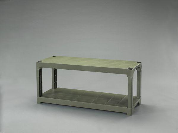【メーカー在庫あり】 [OD色]プラスチック棚 000012286976 JP店
