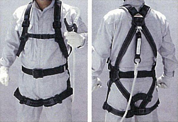 【メーカー在庫あり】 墜落制止用器具(フルハーネス/ランヤード付 000012297965 JP店