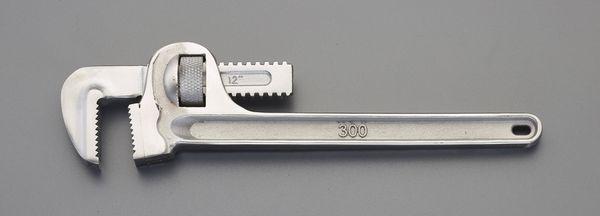 【メーカー在庫あり】 50x350mm パイプレンチ(ステンレス製) EA546BS-4 JP店