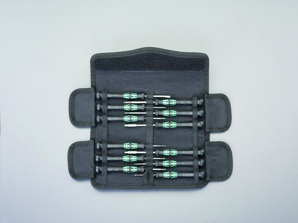 【メーカー在庫あり】 12本組 ドライバーセット(精密用) EA550M-100 JP店
