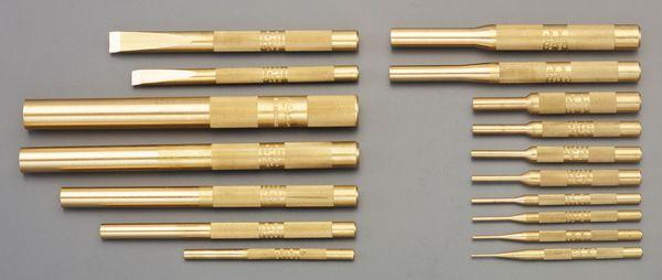 【メーカー在庫あり】 17本組 ロールピンポンチ&スクレーパー(真 EA572MJ-40 JP店