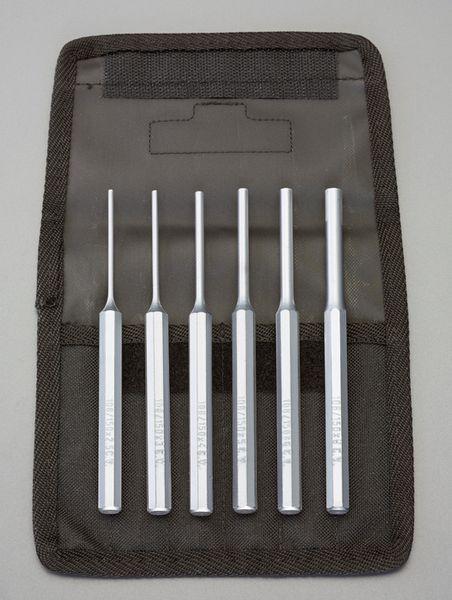 【メーカー在庫あり】 2.5-8.0mm/6本組 平行ピンポンチ EA572S-2 JP店