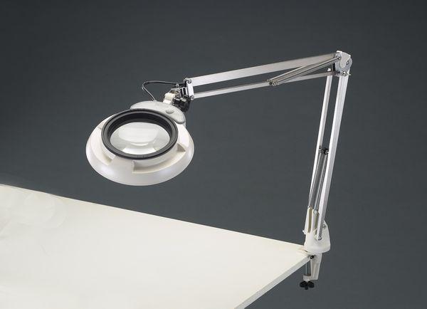 【メーカー在庫あり】 x3.0/130mm 拡大鏡(LED照明付) EA756TB-2B JP店