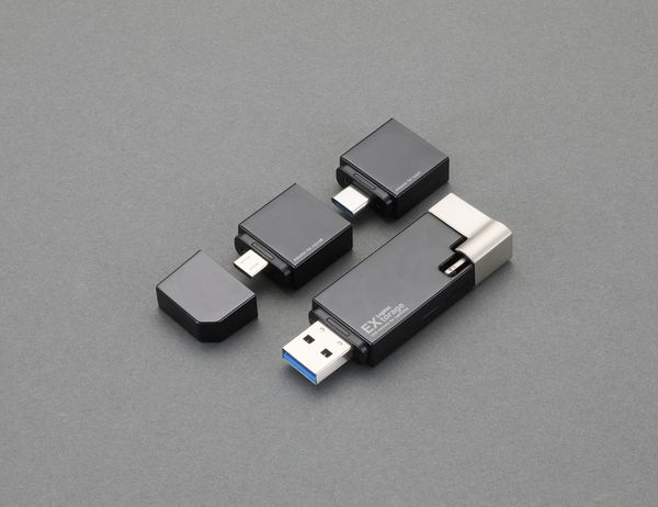 【メーカー在庫あり】 32GB USBメモリー(コネクタ付) EA759GV-92 JP店