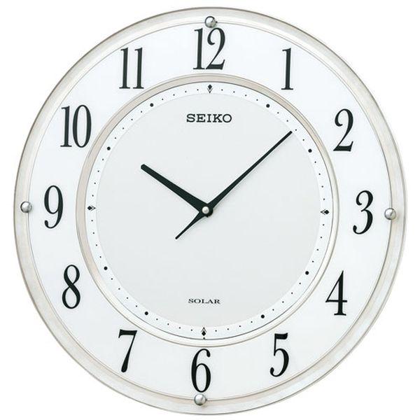 【メーカー在庫あり】 φ351mm [電波]掛 時 計・ソーラー EA798CC-59B JP店