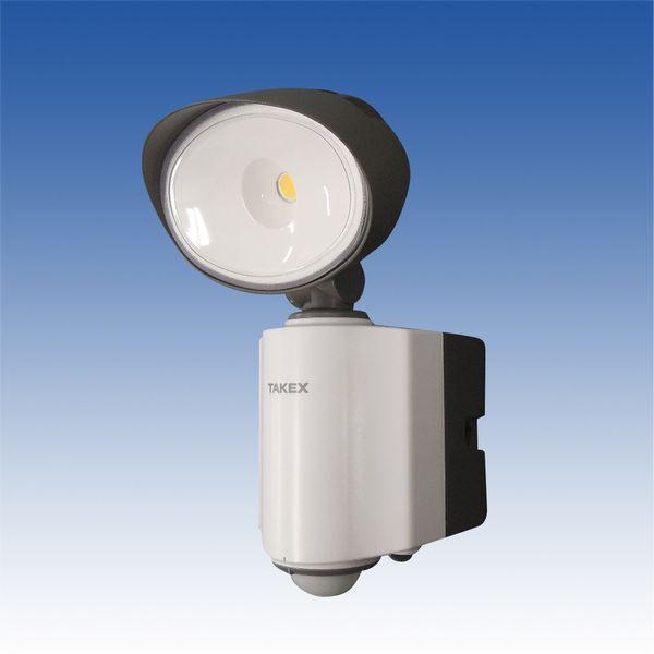 【メーカー在庫あり】 AC100V/14W LED人感センサーライト(防雨 EA864C-4 JP店