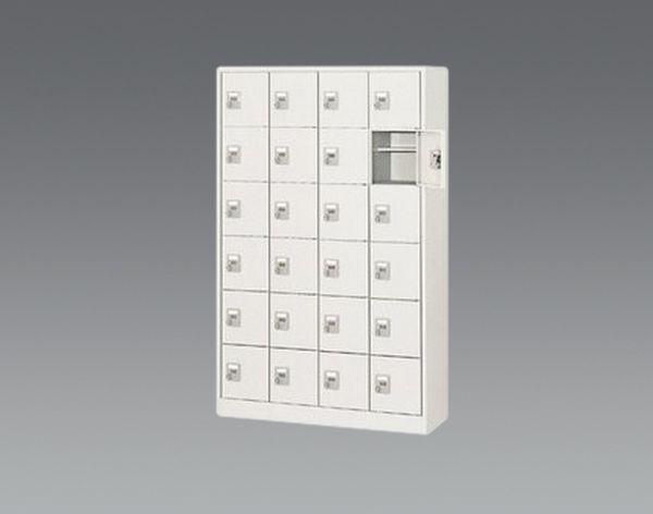 【メーカー在庫あり】 1050x380x1700mm/4列・6段 シューズホ EA954EG-4 JP店
