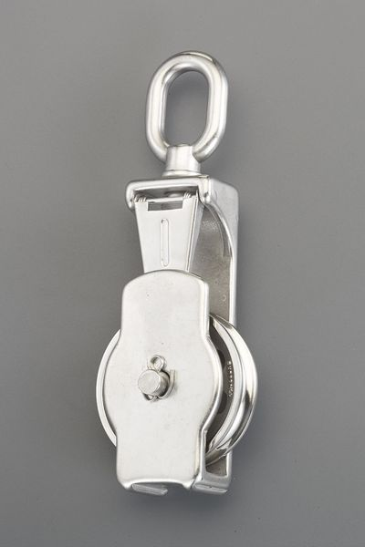 【メーカー在庫あり】 102.0mm [ロープ用]リング付滑車(ステ EA987SP-14 JP店