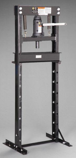 【メーカー在庫あり】 12 ton 門型油圧プレス(手動式) EA993BV-10 JP店